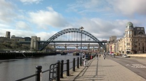 6119432-Newcastles_Quayside_and_Iconic_Bridges_Newcastle_upon_Tyne