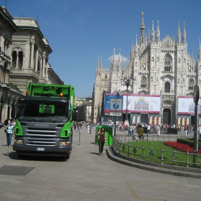 Milan – waste collection