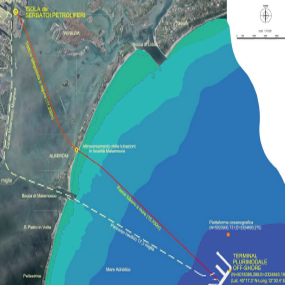Environmental authorization of the off-shore terminal in Northern Adriatic Sea